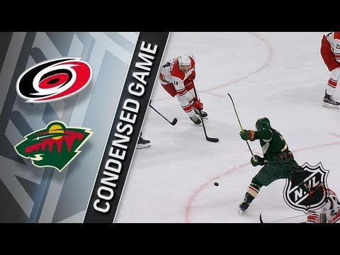 Carolina Hurricanes vs Minnesota Wild – Mar. 06, 2018 | Game Highlights | NHL 2017/18. Обзор