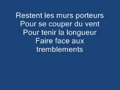 florent pagny les murs porteurs cover youtube. Black Bedroom Furniture Sets. Home Design Ideas