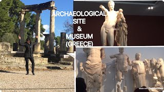 Visit to Archaeological site & museum / Olympia/Greece/where the Olympic Games started