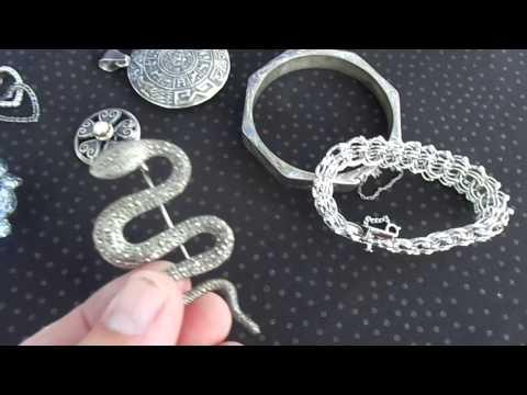 Jewelry Pick-Ups Finds Jubilee Park Flea Market, Clifton NJ - 8/23/15