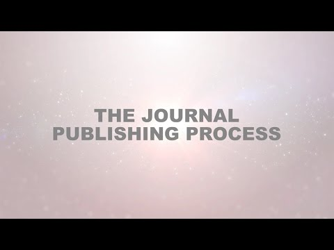 The Journal Publishing Process