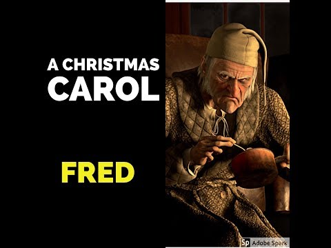 Fred in A Christmas Carol - YouTube