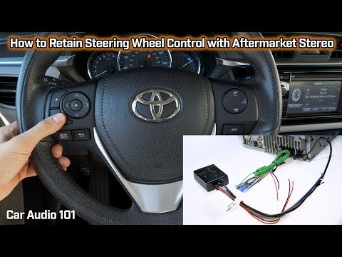 Retain Steering Wheel Control With Aftermarket Stereo - Car Audio 101