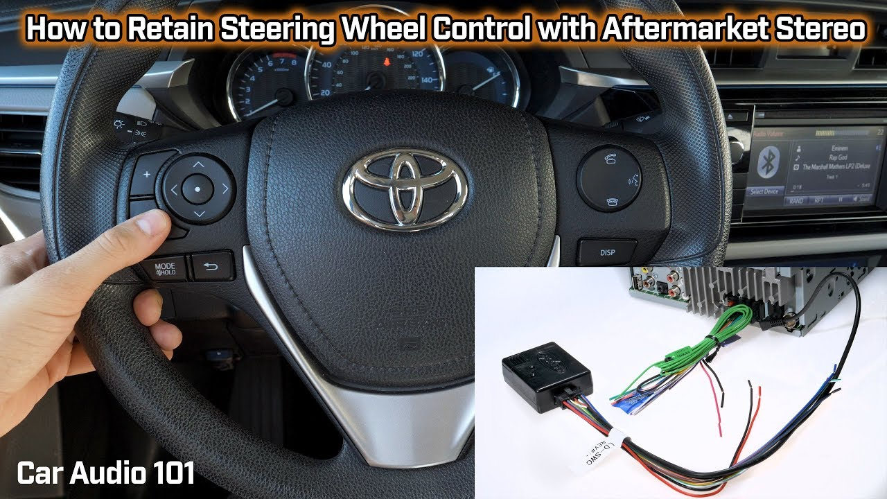 retain steering wheel control with aftermarket stereo car audio 101 [ 1280 x 720 Pixel ]