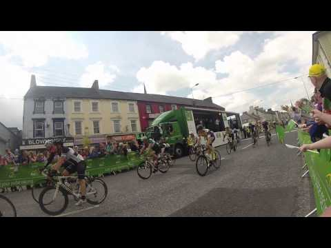 An Post Ras Cycle Stage 3 Finish In Charleville Co.Cork