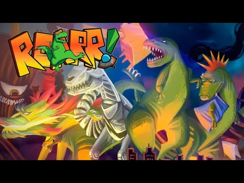 ROARR The Adventures of Rampage Rex part 2 | w / commentary |