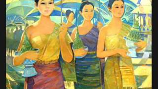 Laos  Original Painting