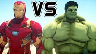 The Hulk Vs Iron Man - Mark 46