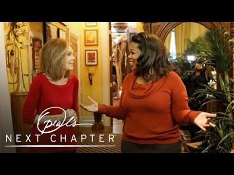 Gloria Steinem Greets Oprah | Oprah's Next Chapter | Oprah Winfrey Network