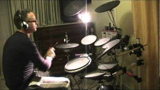 medley rock roll remix 60 s 70 s 80 s punta ala live drum cover