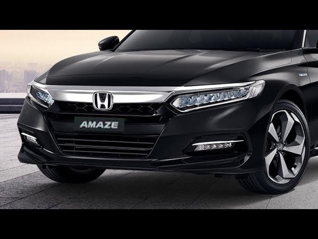 2021 HONDA AMAZE Facelift Compact Sedan Launch India Interior Exterior Price  Specifications - YouTube