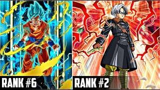 Top 10 Rarest Cards In Dokkan Battle | DBZ Dokkan Battle List