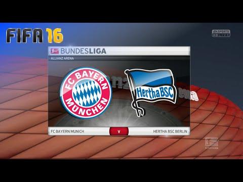 FIFA 16 - FC Bayern München vs. Hertha BSC @ Allianz Arena (Season '16/'17)