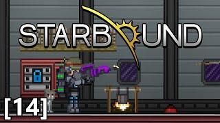 Starbound - Part 14 - Human Flag, Titanium Mining