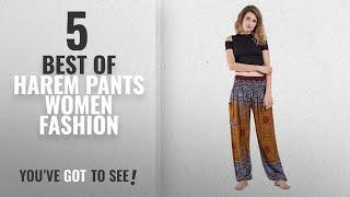 Harem Pants Women Fashion [2018 Best Sellers]: Harem Pants Unisex Geometric Mandala Harem Pants for