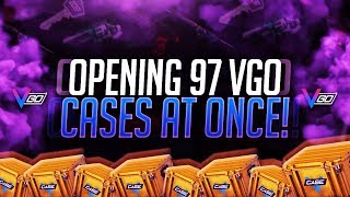 OPENING 97 VGO CASES AT ONCE