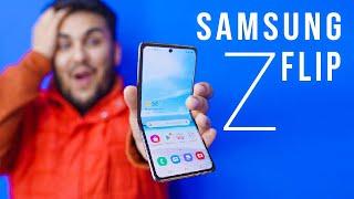 "Samsung Galaxy Z FLIP - Very ""SPECIAL"" Folding Phone"