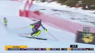 Slalom - Val d'Isère : l'impressionnante première manche d'Alexis Pinturault