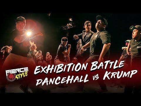 Dancehall vs Krump   Exhibition Battle   Fierce Style Vol. 4 Singapore Krump Event   RPProds