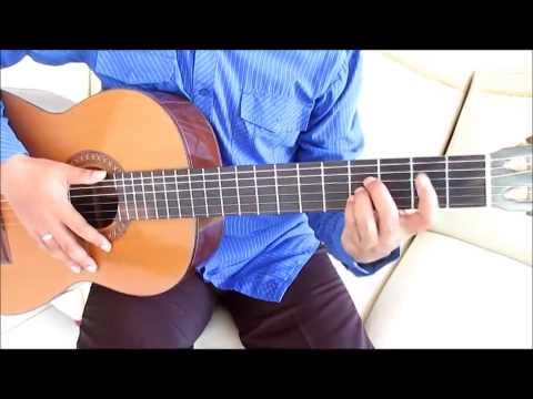 Belajar Gitar Untuk Pemula - Belajar Kunci Gitar Dasar - Chord B Mayor