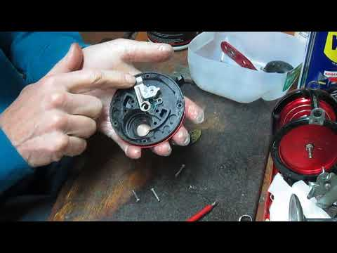 Bass Pro Offshore Angler Seafire 4/0 take apart and maintenance