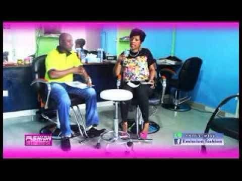 Emission fashion avec Francine KAMPUTU  La brésilienne chez le salon de coiffure LF coiffure