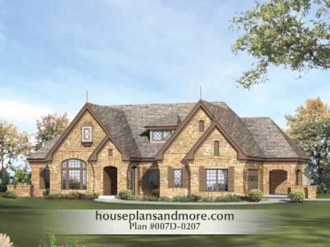 Atrium ranch homes video 1 house plans and more youtube for Atrium home plans