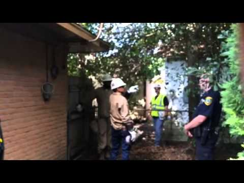 Reliant energy boycott day 1341 Police and CenterPoint Trespass and Harass on private property