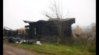 Пожар в Майкоре, Пермский край.
