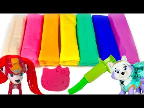 Thumbnail: Best Learning Colors Video for Children - Paw Patrol Play Doh Shapes