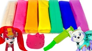Best Learning Colors Video for Children  - Paw Patrol Play Doh Shapes