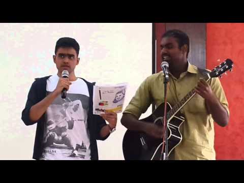 Two College Students Sing Jesus - College Singing Competition - Song 2 - Fishers of Men