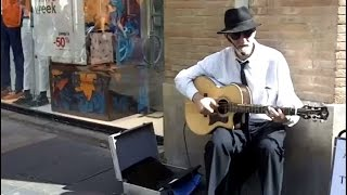tips for playing blues guitar on the street!
