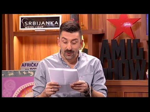 Ami G Show S09 - Kviz Koliko Se Dobro Poznaju Ana Sevic I Darko Lazic