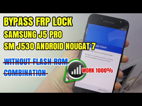 How To Bypass Frp Samsung J5 Pro (SM-J530) Latest 2018 Without Flash Rom Combination