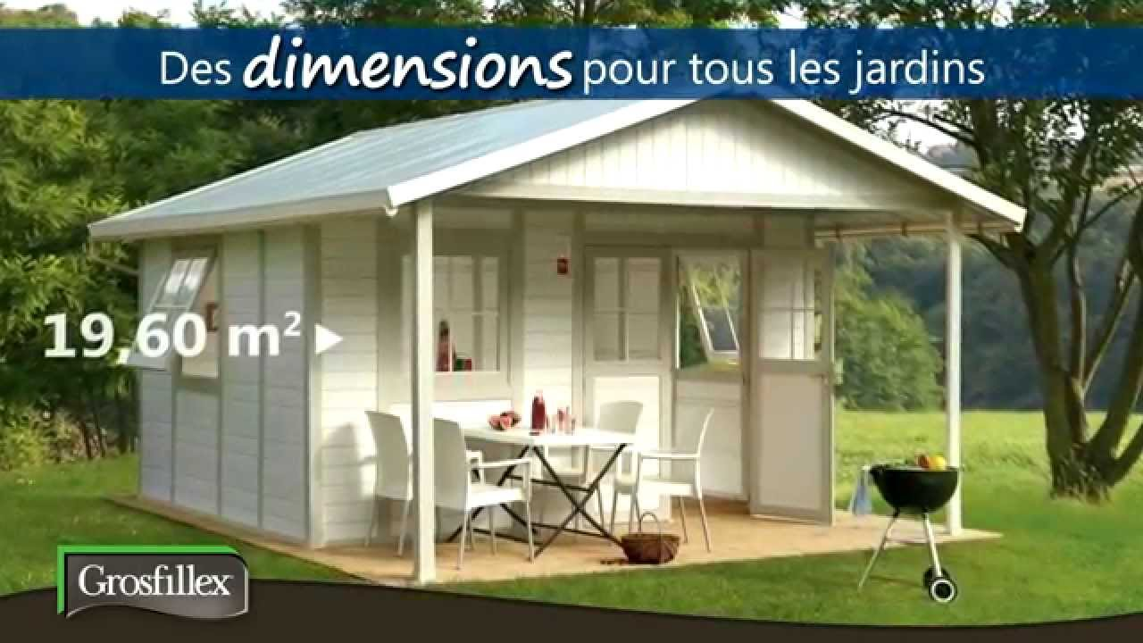 Abris de jardin grosfillex youtube for Abri de jardin blooma