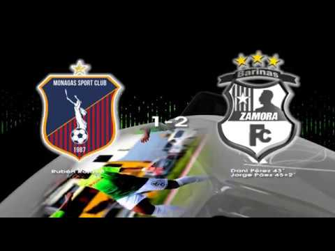 Resumen: Monagas SC 1-2 Zamora FC | Apertura 2018 | Jornada 3