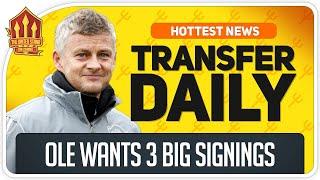 Solskjaer's Transfer Promise! Man Utd Transfer News