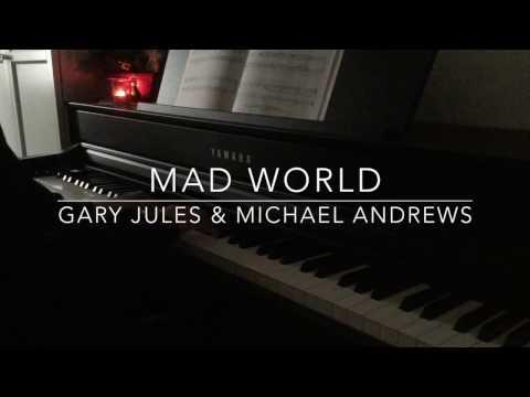 Gary Jules  Mad World  Piano   BODO