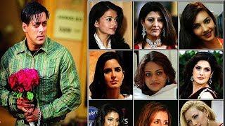 কোন কোন অভিনেত্রীরা সালমান খানের প্রেমে হাবুডুবু খেয়েছিলেন,জানলে অবাক হবেন | Salman Khan Girlfriends