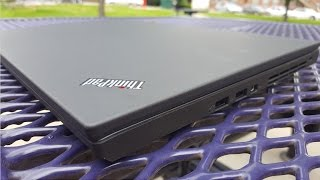 ThinkPad T560 ---Longest battery life laptop of 2016? Review By AInoob