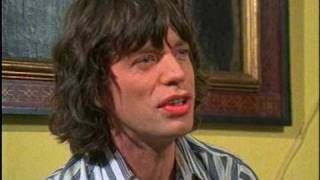"Outtakes of Mick Jagger's Rutles interview from ""All You Need Is Cash"""