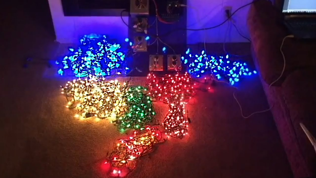 Arduino Musical Lighting System Loneoceans Laboratories Project 405 Testing Out My Diy Automated Christmas Lights You