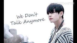 [뷔(V)&정국(Jungkook)]we don't talk anymore-합성