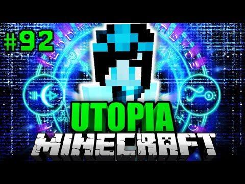 GEIST von LEYLA GETROFFEN?! - Minecraft Utopia #092 [Deutsch/HD]