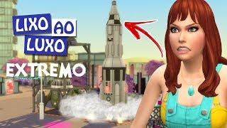 ROUBARAM O MEU FOGUETE #08 - Desafio Do Lixo Ao Luxo Extremo - The Sims 4