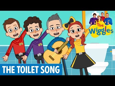 The Wiggles: The Toilet Song   Animated by Super Simple Songs