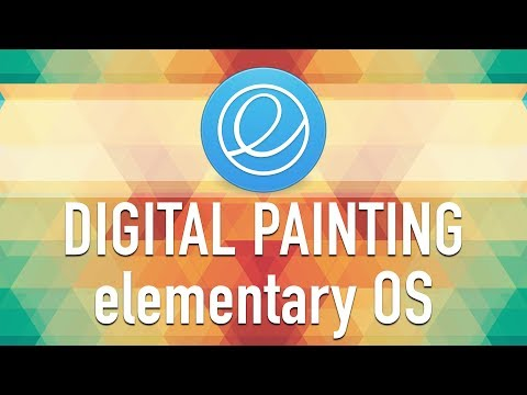 Alecaddd Live: Digital Painting in elementary OS