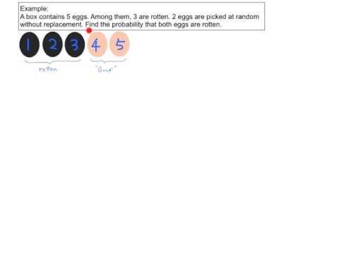 Probability nCr/nPr 01 (Not using nCr/nPr) - YouTube