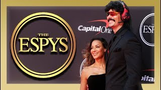 DrDisrespect stealing THE SHOW at the ESPYS